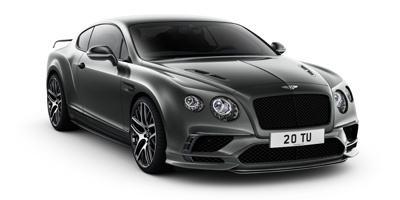 Bentley Supersports front 3qtr